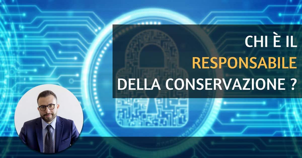 responsabile della conservazione digitale