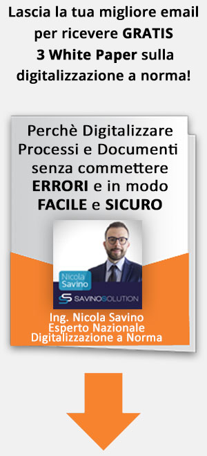come digitalizzare processi e documenti