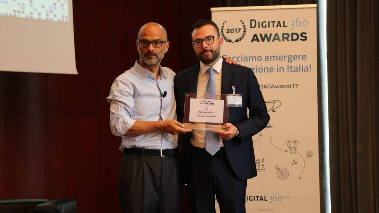 Il Premio di Digital 360° sul nostro Progetto di Rifiuti Digitali per la Dematerializzazione e Digitalizzazione dei Processi Aziendali