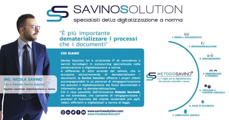 I servizi di Savino Solution