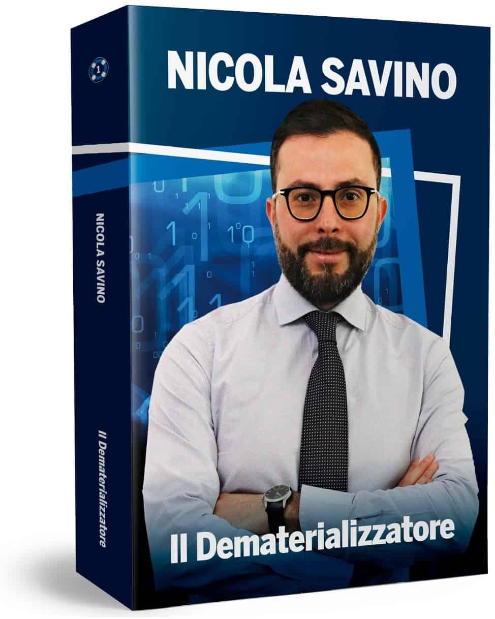 Libro il dematerializzazione Savino