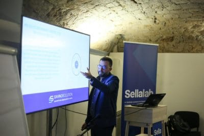 Seminario Nicola Savino su Digitalizzazione dei processi al Sellalab Salerno - 20 novembre 2018