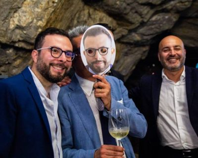 Digital Day 1ª Edizione - Nicola Savino (sinistra) con Edoardo Gisolfi (centro) e Antonio Vitolo (destra)