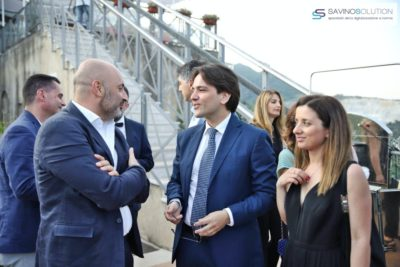 Digital Day 2ª Edizione - Antonio Vitolo con l'avvocato Pietro Montella