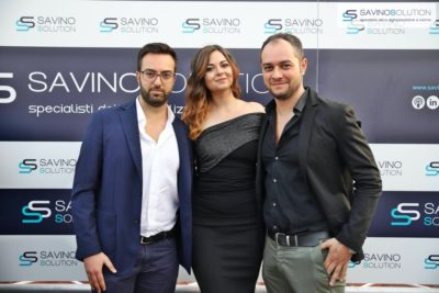 Digital Day 2ª Edizione - Giuseppe Alviggi (sinistra) con Rossella Pisaturo (centro) e Antonio Del Vecchio (destra)