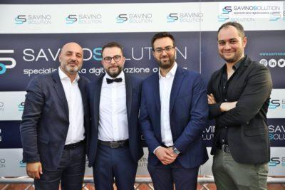 Digital Day 2ª Edizione - Antonio Vitolo, Giuseppe Alviggi, Antonio Del Vecchio del Gruppo Stratego con Nicola Savino