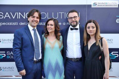Digital Day 2ª Edizione - L'avvocato Pietro Montella (a sinistra) con Pina D'ambrosio e Nicola Savino