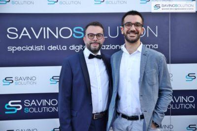 Digital Day 2ª Edizione - Nicola Savino con il project manager Dante Granese