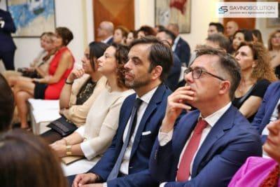 Digital Day 2ª Edizione - Il presidente della Fondazione Saccone Giorgio Scala con la moglie Barbara Saccone