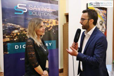 Digital Day 2ª Edizione - L'addetto stampa Giuseppe Alviggi intervista l'assessore comunale all'Innovazione Mariarita Giordano