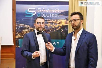 Digital Day 2ª Edizione - L'addetto stampa Giuseppe Alviggi intervista il CEO della Savino Solution Nicola Savino