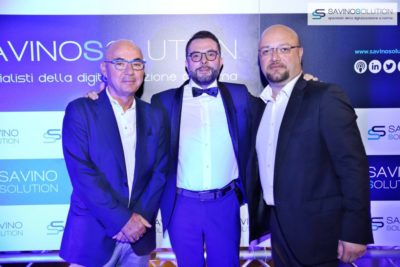 Digital Day 2ª Edizione - Nicola Savino con Biagio Crescenzo e Francesco Ferrara di CTI Foodtech