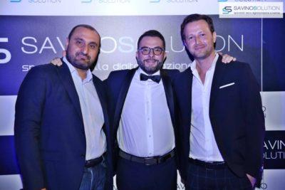 Digital Day 2ª Edizione - Domenico Sada (sinistra) con Nicola Savino (al centro) e Marco Rinaldi (destra) al Digital Day