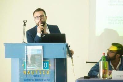 Un altro scatto di Nicola Savino al convegno su GDPR e Fatturazione elettronica (Polo Nautico Salerno, 10 luglio 2018)
