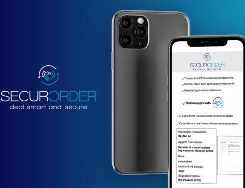 """Nasce """"SecurOrder"""", la prima piattaforma digitale per acquisire gli ordini di vendita """"a norma di legge"""""""