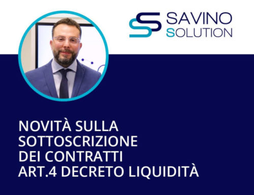 Obbligo Sottoscrizione Documenti in Digitale : la grande novità del decreto Liquidità Covid19