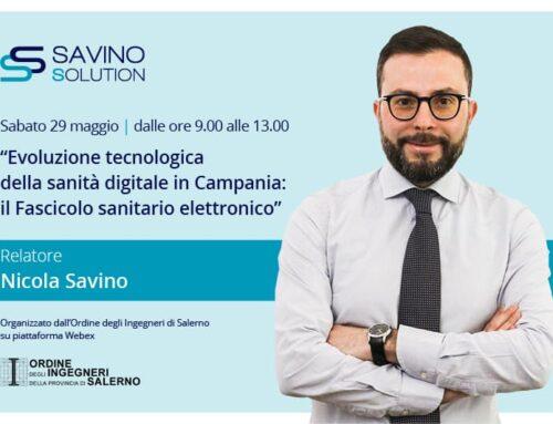 Sanità Digitale, convegno online dell'Ordine Ingegneri con Nicola Savino